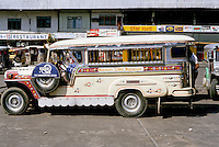 Philippines: Manila--Jeepney profile. Photo '82.
