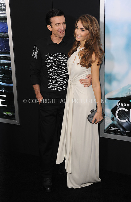 WWW.ACEPIXS.COM<br /> March 4, 2015 New York City<br /> <br /> Sharlton Copley and Tanit Phoenix attending the 'Chappie' New York Premiere at AMC Lincoln Square Theater on March 4, 2015 in New York City.<br /> <br /> Please byline: Kristin Callahan/AcePictures<br /> <br /> ACEPIXS.COM<br /> <br /> Tel: (646) 769 0430<br /> e-mail: info@acepixs.com<br /> web: http://www.acepixs.com