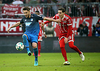 25.01.2018, Allianz Arena, Muenchen, GER, 1.FBL, FC Bayern Muenchen vs TSG 1899 Hoffenheim , <br />Ermin Bičakčić (Hoffenheim), Sebastian Rudy (Muenchen) *** Local Caption *** © pixathlon<br /> Contact: +49-40-22 63 02 60 , info@pixathlon.de