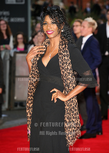 Sinitta arriving for the Titanic 3D film premiere, Royal Albert Hall, London. 27/03/2012 Picture by: Alexandra Glen / Featureflash