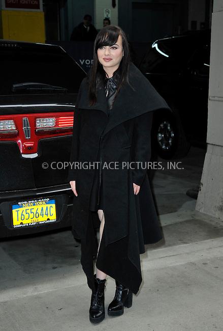 WWW.ACEPIXS.COM<br /> <br /> April 9 2015, New York City<br /> <br /> Actress Ashley Rickards made an appeareance at HuffPost Live on April 9 2015 in New York City<br /> <br /> By Line: Curtis Means/ACE Pictures<br /> <br /> <br /> ACE Pictures, Inc.<br /> tel: 646 769 0430<br /> Email: info@acepixs.com<br /> www.acepixs.com