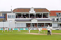 General view of the St Lawrence Ground with the pavilion seen in the background during the County Championship Division Two game between Kent and Northants at the St Lawrence ground, Canterbury, on Sept 4, 2018.