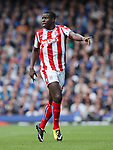 Stoke's Kurt Zouma in action during the premier league match at Goodison Park, Liverpool. Picture date 12th August 2017. Picture credit should read: David Klein/Sportimage