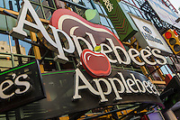 An Applebee's restaurant is pictured in the New York City borough of Manhattan, NY, Monday May 12, 2014. Applebee's International, Inc., is an American company which develops, franchises, and operates the Applebee's Neighborhood Grill and Bar restaurant chain.