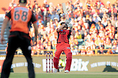 8th January 2018, The WACA, Perth, Australia; Australian Big Bash Cricket, Perth Scorchers versus Melbourne Renegades; Cameron White of the Melbourne Renegades plays over the slips during his innings