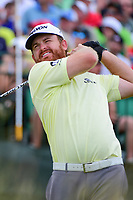 J.B. Holmes (USA) watches his tee shot on 1 during Saturday's round 3 of the 117th U.S. Open, at Erin Hills, Erin, Wisconsin. 6/17/2017.<br /> Picture: Golffile | Ken Murray<br /> <br /> All photo usage must carry mandatory copyright credit (&copy; Golffile | Ken Murray)