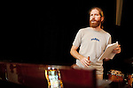 September 14, 2010.  Durham, North Carolina.. Joe Westerlund.. Day One of Sounds of the South, a reinterpretation of Alan Lomax's field recordings, with music by Megafaun, Fight the Big Bull, Sharon Van Etten and Justin Vernon of Bon Iver..