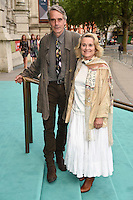 Jeremy Irons and Sinead Cusack<br /> arrives for the V&amp;A Summer Party 2016, South Kensington, London.<br /> <br /> <br /> &copy;Ash Knotek  D3135  22/06/2016