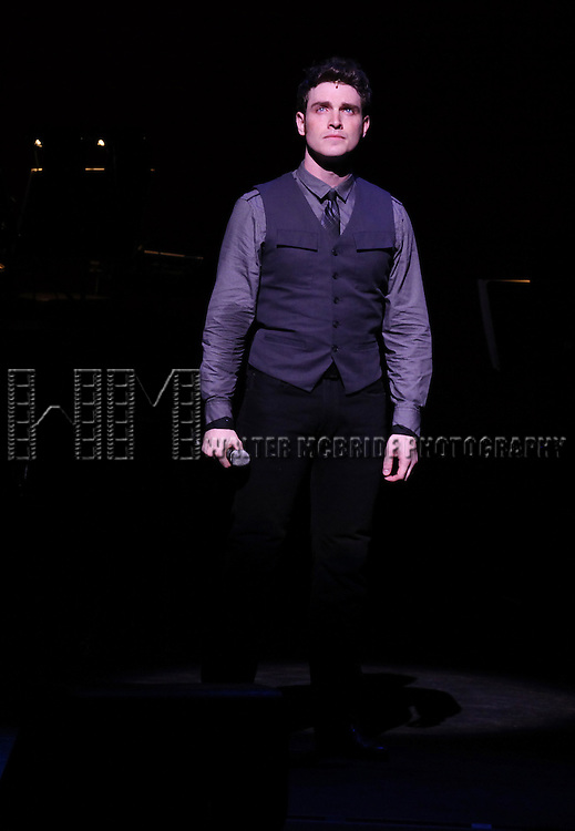Tyler Hanes.performing in Kristin Chenoweth World Tour directed by Richard Jay Alexander at City Center in New York City on 6/02/2012
