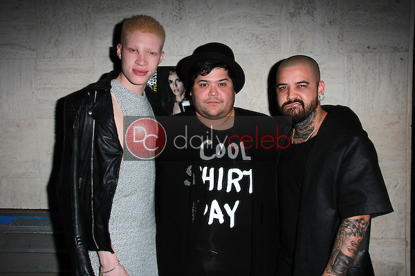 Shaun Ross, Harvey Guillen, Ashton Michael<br />