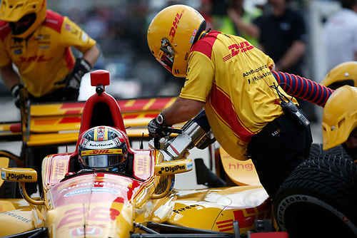 22-24 April, 2016, Birmingham, Alabama<br /> , 28, Ryan Hunter-Reay<br /> ©2016, Michael L. Levitt<br /> LAT Photo USA