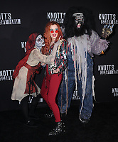29 September  2017 - Buena Park , California - Bella Thorne. 2017 Knott's Scary Farm Celebrity Night held at Knott's Berry Farm in Buena Park . Photo Credit: Birdie Thompson/AdMedia