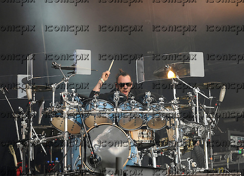 30 SECONDS TO MARS - drummer Shannon Leto - performing live on the Main Stage at the BBC Radio 1 Big Weekend held at Ebrington Square Londonderry Northern Ireland UK - 26 May 2013.  Photo credit: George Chin/IconicPix