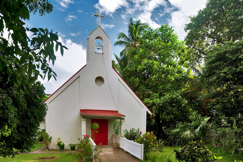 Nazareth Evangelical Lutheran Church. Virgin Islands. St. John