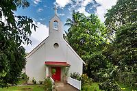 Nazareth Evangelical Lutheran Church. Virgin Islands. St. John