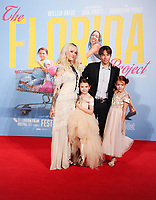 Brooklyn Kimberly Prince, Bria Vinaite, director Sean Baker &amp; Valeria Cotto at the London Film Festival 2017 screening of &quot;The Florida Project&quot; at Odeon Leicester Square, London, UK. <br /> 13 October  2017<br /> Picture: Steve Vas/Featureflash/SilverHub 0208 004 5359 sales@silverhubmedia.com