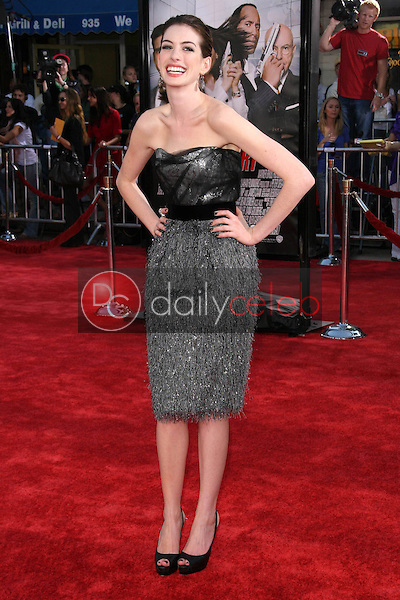 """Anne Hathaway<br />at the World Premiere of """"Get Smart"""". Mann Village Theatre, Westwood, CA. 06-16-08<br />Dave Edwards/DailyCeleb.com 818-249-4998"""