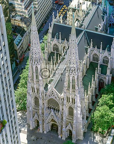 SAINT PATRICK CATHEDRAL FIFTH AVENUE MANHATTAN NEW YORK CITY USA