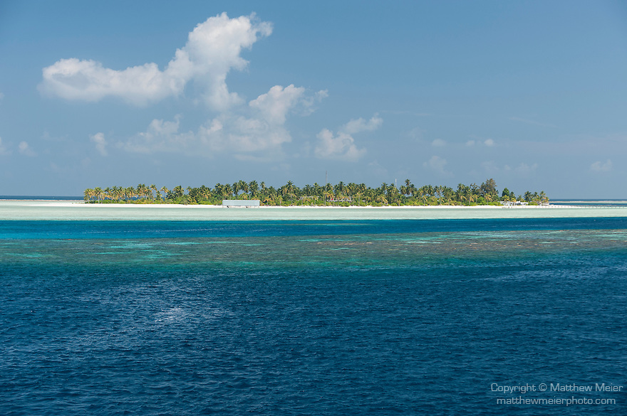 Munafushi Kandu, Laamu Atoll, Maldives; a private residence on a small, tropical island in the Indian Ocean near the Munafushi Kandu