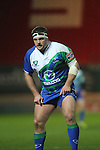 Connacht prop Nathan White.Scarlets v Connacht.Parc y Scarlets.Rabo Pro12.08.02.13.©Steve Pope-SPORTINGWALES