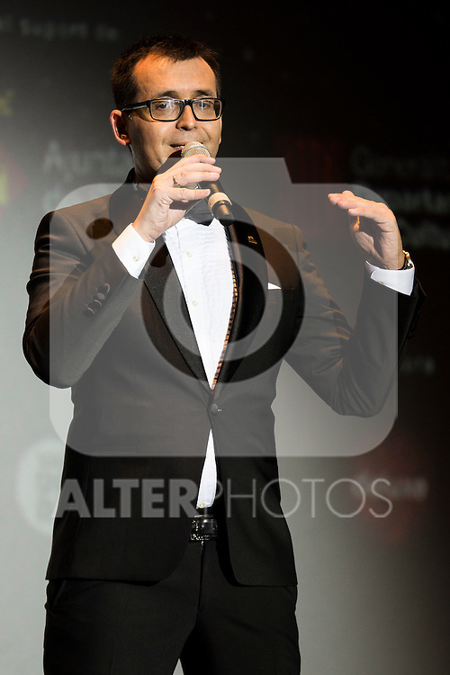 The director of the Sitges Festival, Angel Sala during the red carpet of the opening ceremony of the Festival de Cine Fantastico de Sitges in Barcelona. October 07, Spain. 2016. (ALTERPHOTOS/BorjaB.Hojas)