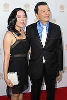 HOLLYWOOD, LOS ANGELES, CA, USA - JUNE 01: April Hong, James Hong at the 12th Annual Huading Film Awards held at the Montalban Theatre on June 1, 2014 in Hollywood, Los Angeles, California, United States. (Photo by Xavier Collin/Celebrity Monitor)