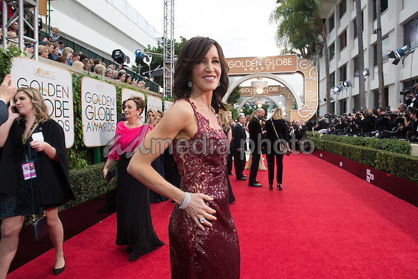 "Felicity Huffman, Golden Globe Nominee in the category of BEST PERFORMANCE BY AN ACTRESS IN A LIMITED SERIES OR A MOTION PICTURE MADE FOR TELEVISION, for her role in ""American Crime"", arrives at the 73rd Annual Golden Globe Awards at the Beverly Hilton in Beverly Hills, CA on Sunday, January 10, 2016. Photo Credit: HFPA/AdMedia"