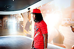 Rapper Waka Flocka walks through Lenox Square Mall after picking up a pair of Nikes in Atlanta, Georgia August 18, 2010.