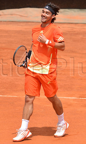 16.05.2012. Rome, Italy.  Italian Open Tennis Championship by BNP Paribas. Photo Fabio Fognini