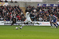 Pictured: Jason Scotland of Swansea equalising from the penalty spot.<br /> Re: Coca Cola Championship, Swansea City FC v Doncaster Rovers at the Liberty Stadium. Swansea, south Wales, Saturday 21 February 2009<br /> Picture by D Legakis Photography / Athena Picture Agency, Swansea 07815441513