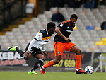 Ethan Ebanks-Landell of Sheffield Utd in action during the English League One match at Vale Park Stadium, Port Vale. Picture date: April 14th 2017. Pic credit should read: Simon Bellis/Sportimage