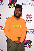 SAN FRANCISCO, CA - DECEMBER 01:   Khalid attends the 2018 WiLD 94.9's FM's iHeartRadio Jingle Ball at Bill Graham Civic Auditorium on December 1, 2018 in San Francisco, California.   <br /> CAP/MPI/IS<br /> &copy;MPIISCapital Pictures