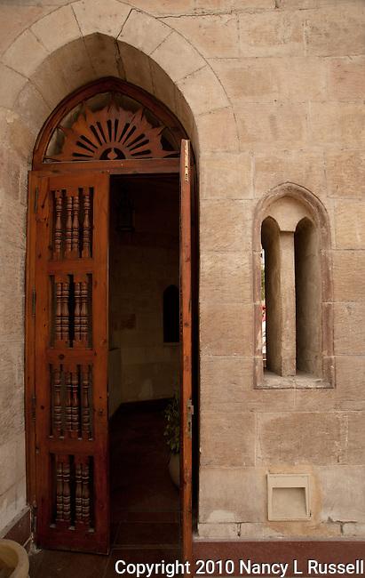 A door at the Hanging Church