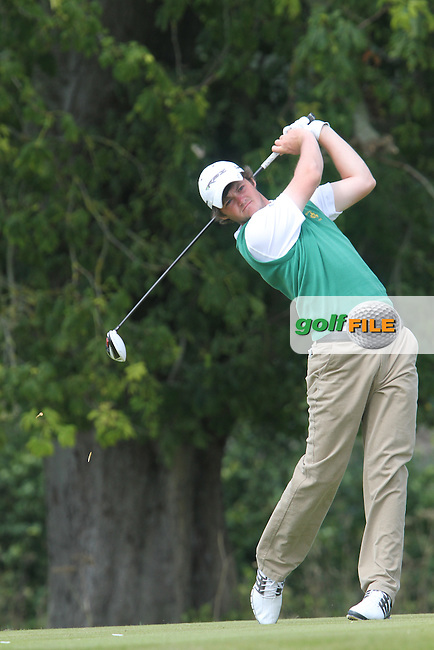 Alan Dunbar (Ireland) on the Final Day of the International European Amateur Championship 2012 at Carton House, 11/8/12...(Photo credit should read Jenny Matthews/Golffile)...