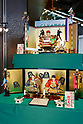 Japanese doll maker unveils new hina dolls for Children's Day