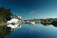 The Crinan Canal at Crinan Basin, Argyll & Bute<br /> <br /> Copyright www.scottishhorizons.co.uk/Keith Fergus 2011 All Rights Reserved