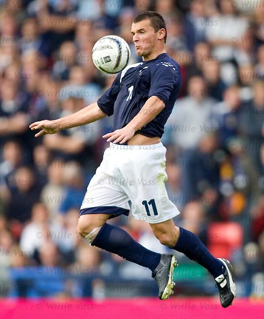 Lee McCulloch, Scotland.stock season 2005-2006.pic willie vass