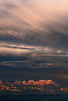 730750199v a summer thunderstorm breaks over the aquarius plateau and bryce canyon national park utah in this view from bryce point lookout