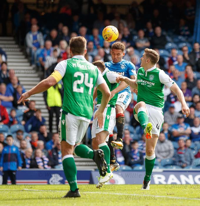 James Tavernier scores the second for Rangers