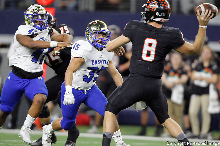Boswell plays Aledo in 5A Division II state quarterfinal at AT&T Stadium in Arlington on Friday, December 2, 2016.