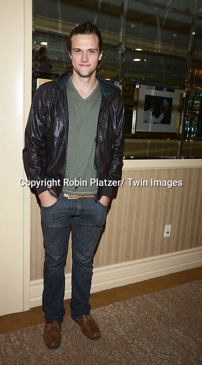 Hartley Sawyerattends the Gifting Suite for the Daytime Emmy Awards by Off The Wall Productions on June 16, 2013  at the Beverly Hilton  in Beverly Hills, California.