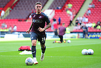 Swansea City's Barrie McKay during the pre-match warm-up for the Sky Bet Championship match between Sheffield United and Swansea City at Bramall Lane, Sheffield, England, UK. Saturday 04 August 2018