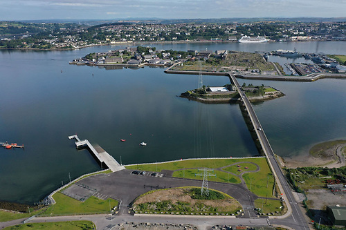 Paddy's Point along the causeway towards Haulbowline