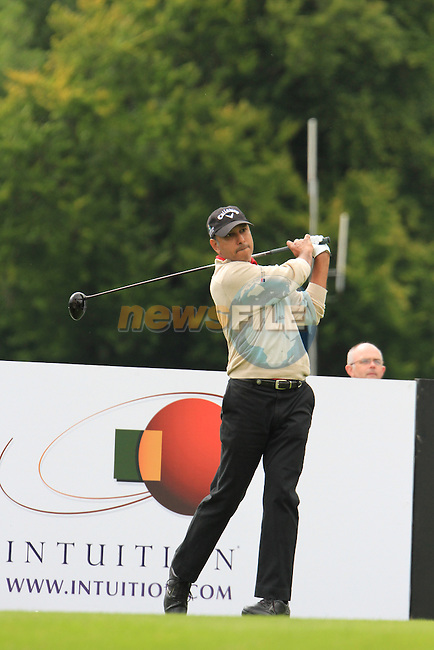 Jeev Milkha Singh (IND) tees off on the 13th tee during Day 1 Thursday of The Irish Open presented by Discover Ireland at Killarney Golf & Fishing Club on 28th July 2011 (Photo Jenny Matthews/www.golffile.ie)
