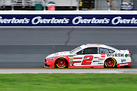 July 15, 2017 - Loudon, New Hampshire, U.S. - Brad Keselowski, Monster Energy NASCAR Cup Series driver of the Wurth Ford (2), runs in the NASCAR Monster Energy Overton's 301 final practice round held at the New Hampshire Motor Speedway in Loudon, New Hampshire. Larson placed first in the qualifier. Eric Canha/CSM