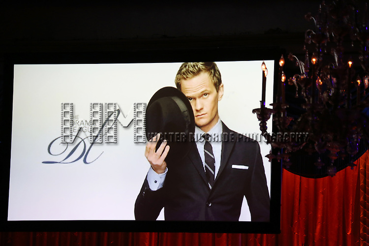 Atmosphere during the Drama League's 30th Annual 'Musical Celebration of Broadway' honoring Neil Patrick Harris at the Pierre Hotel on February 3, 2014 in New York City.