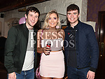 Masie Gordon celebrating her 21st birthday with Kevin Carr and Ross Freeman in Sarsfields. Photo:Colin Bell/pressphotos.ie