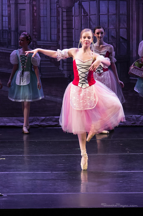 "Evening Performance of ""Coppelia"", the Spring Gala production of Cary Ballet Company. Cary Arts Center, Saturday, 14 March 2015"