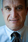 California Field Poll director Mark DiCamillo poses for a portrait in his San Francisco, Calif. office June 1, 2010..CREDIT: Max Whittaker for The Wall Street Journal.Pollster