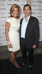 Robert Pennino and Hoda Kotb attending the Broadway World Premiere Launch for 'Motown: The Musical' at the Nederlander in New York. Sept. 27, 2012